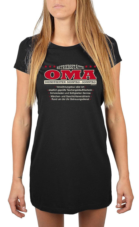 Nachthemd Damen Betriebsstätte Oma - Dienstzeiten: Montag - Sonntag… für Oma Sommerkleid Nachtkleid Geschenk für Oma