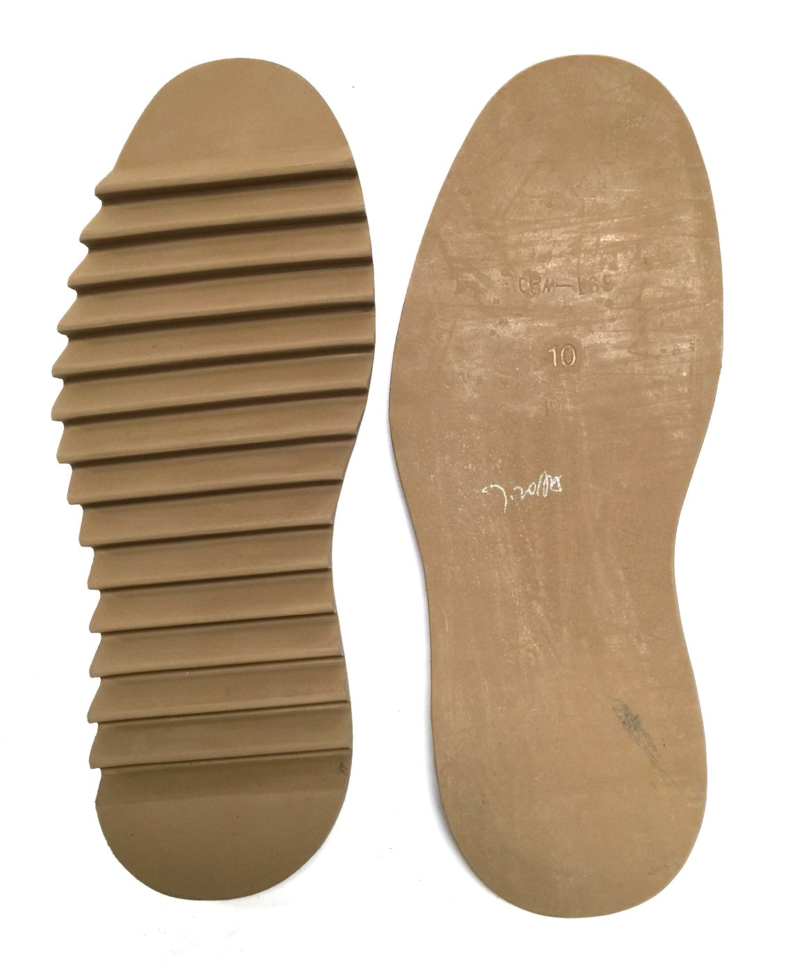 91983c29ca813 SoleTech Ripple Full Sole Oak Color 1 PAIR Shoe Repair (8)