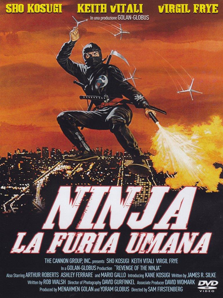 Amazon.com: Ninja La Furia Umana: sho kosugi, sam ...