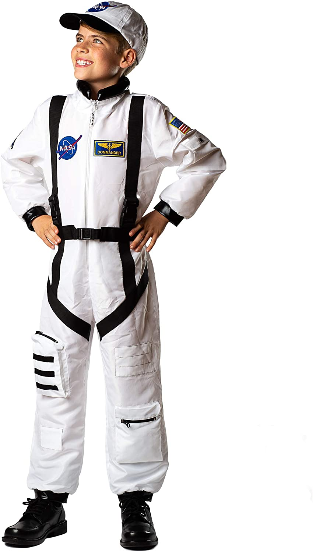 Bad Bear Brand Kids Astronaut Flight Suit Commander Child Boys & Girls Costume