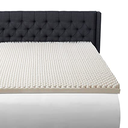 Amazoncom Beautyrest 3 Convoluted Foam Mattress Topper Queen