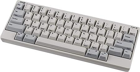 HHKB HYBRID Type-S Tastiera PD-KB800WS, Teclas Impresas, Silenciosa Profesional Mecánico 60% Teclado, Bluetooth, USB-C (Blanco)