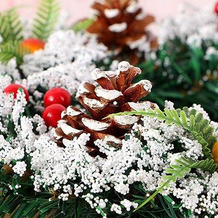 istary hechas a mano Corona de Navidad Festival abeto Corona ...
