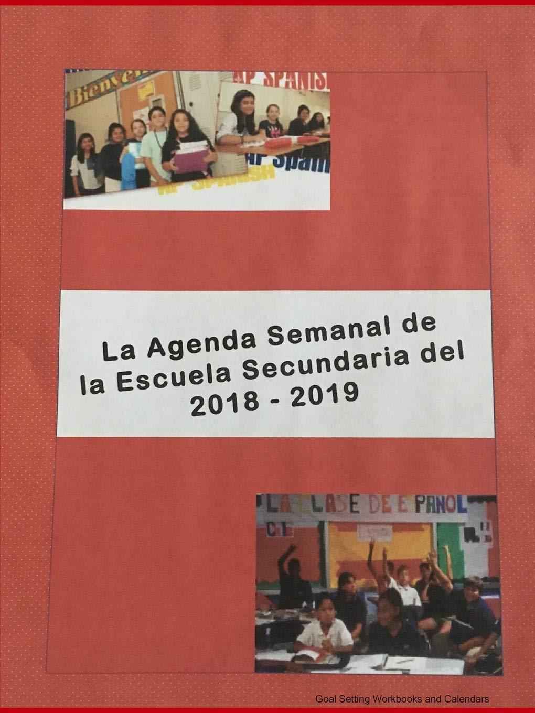 La Agenda Semanal de la Escuela Secundaria del 2018-2019 ...