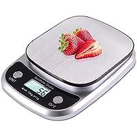 ميزان الطعام من ارابست - عالي الدقة بنطاق وزن من 0.1 غرام حتى 10 كغم للمطبخ، ملائم للخبز والطبخ واعداد القهوة، وما الى…