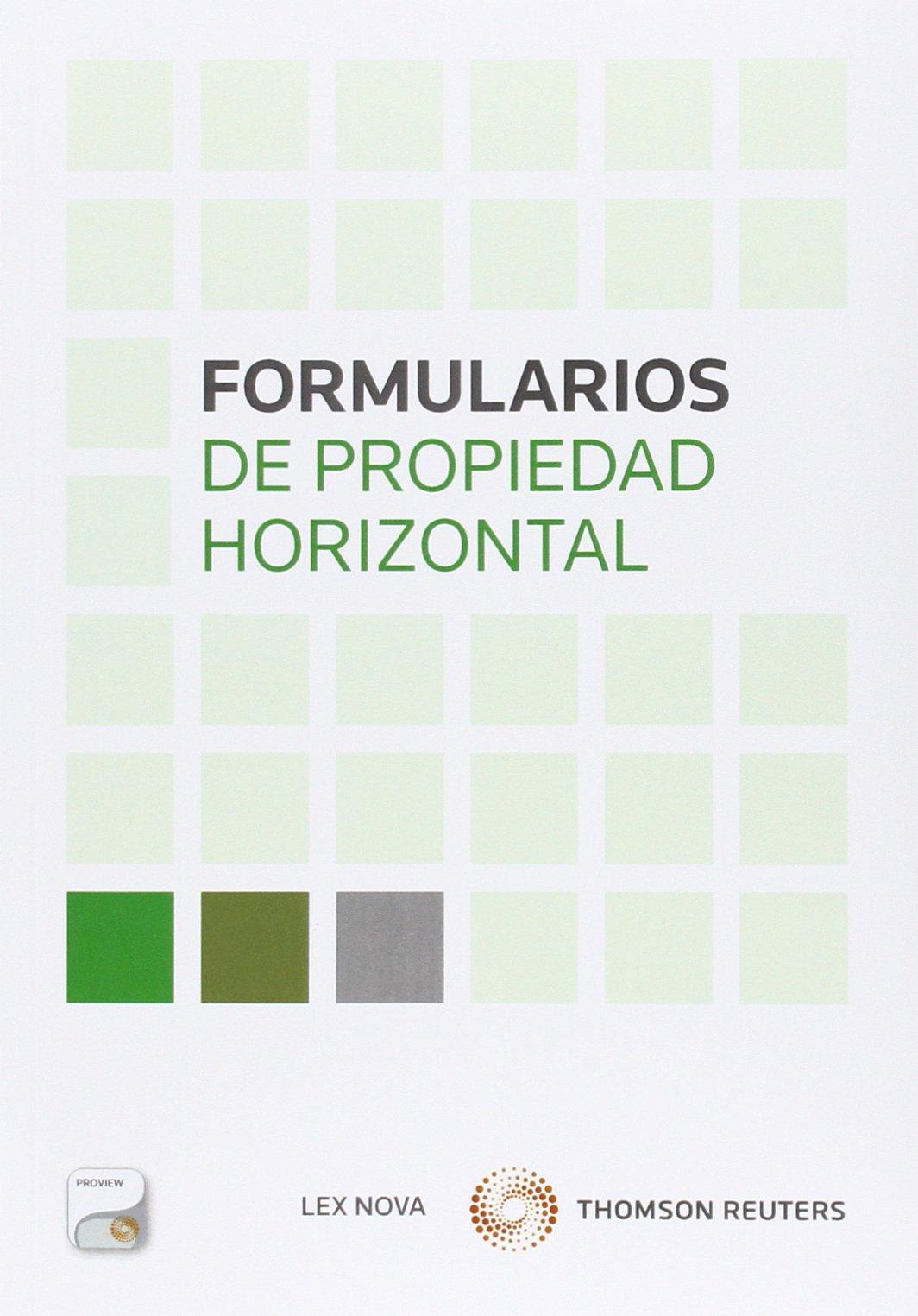 Formularios de propiedad horizontal (Papel+e-book) pdf