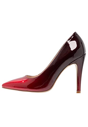 808c59e5ede ANNA FIELD Patent High Heels in Ombre Red