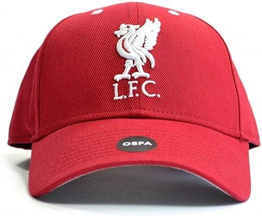 Liverpool FC Liverpool F.C. - Gorra, diseño, Color Negro: Amazon ...