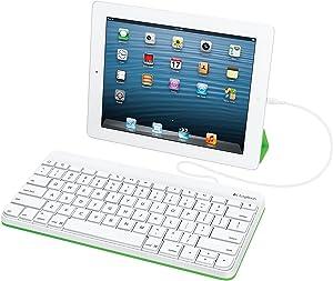 Logitech 920-006341 Wired Keyboard for iPad (Renewed)