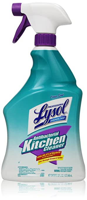 Amazoncom Professional Lysol Antibacterial Kitchen Cleaner Spray - Kitchen cleaner