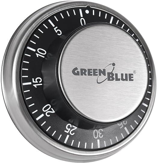 Temporizador minutero timer de cocina mecánico con imán magnético ...