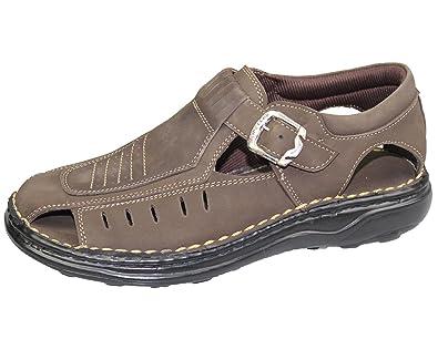 Outdoor Sandalen für Herren (40 EU Dunkelbraun)