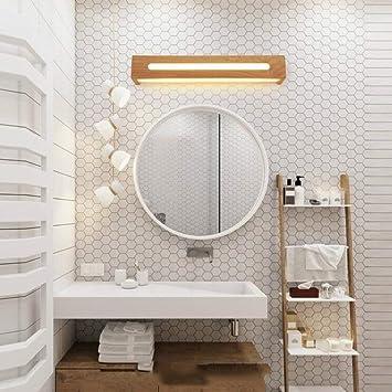 DEED Einfache kreative Wand-Spiegel-Scheinwerfer-Badezimmer-Spiegel ...
