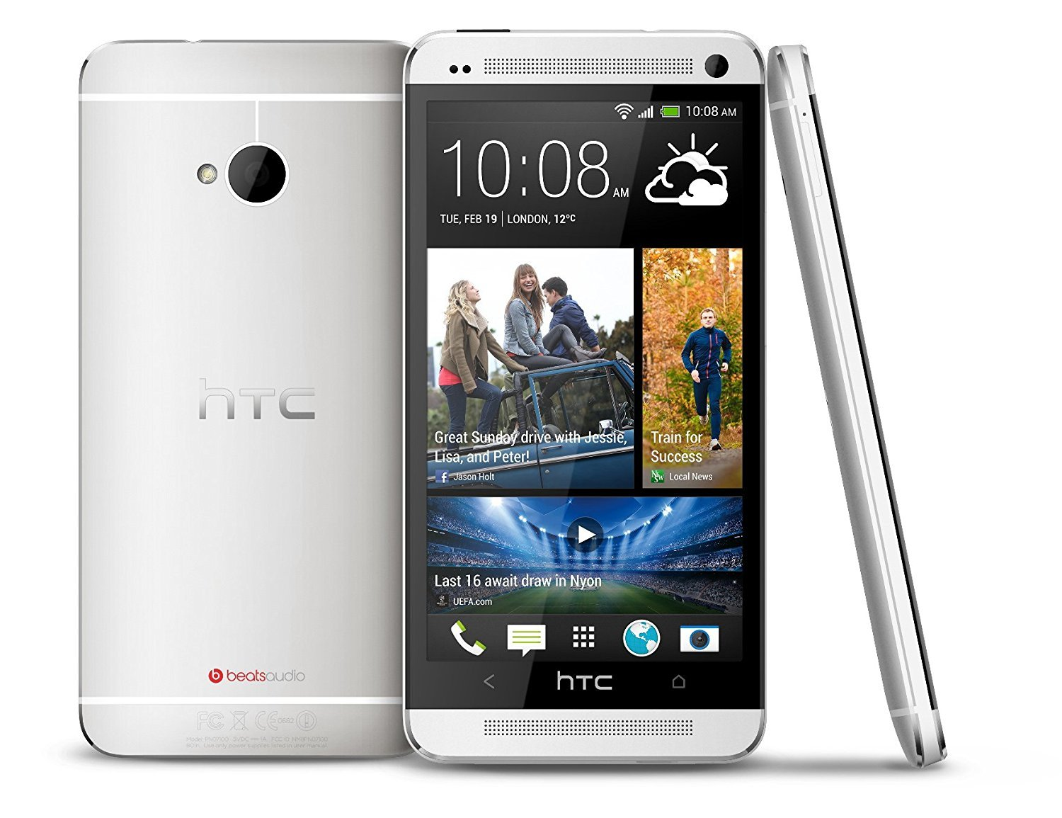 HTC One 32GB Unlocked GSM 4G LTE Android Smartphone w/Beats Audio - Silver