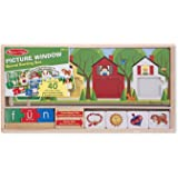 Melissa & Doug Picture Window Sound Sorting Wooden Activity Play Set