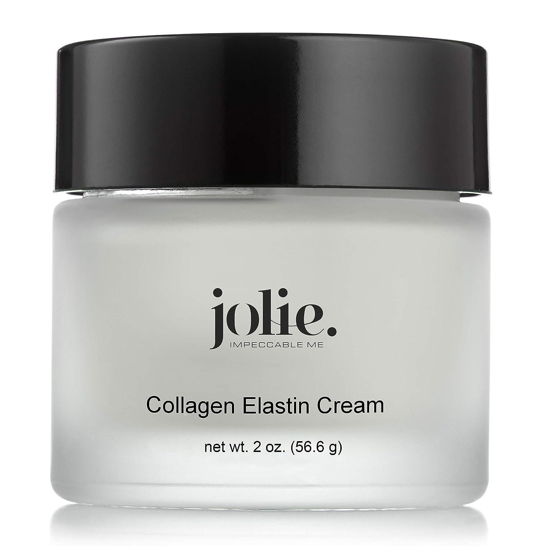 Jolie Collagen Elastin Creme W/Multi-Vitamins - Rich, Emollient Facial Moisturizer