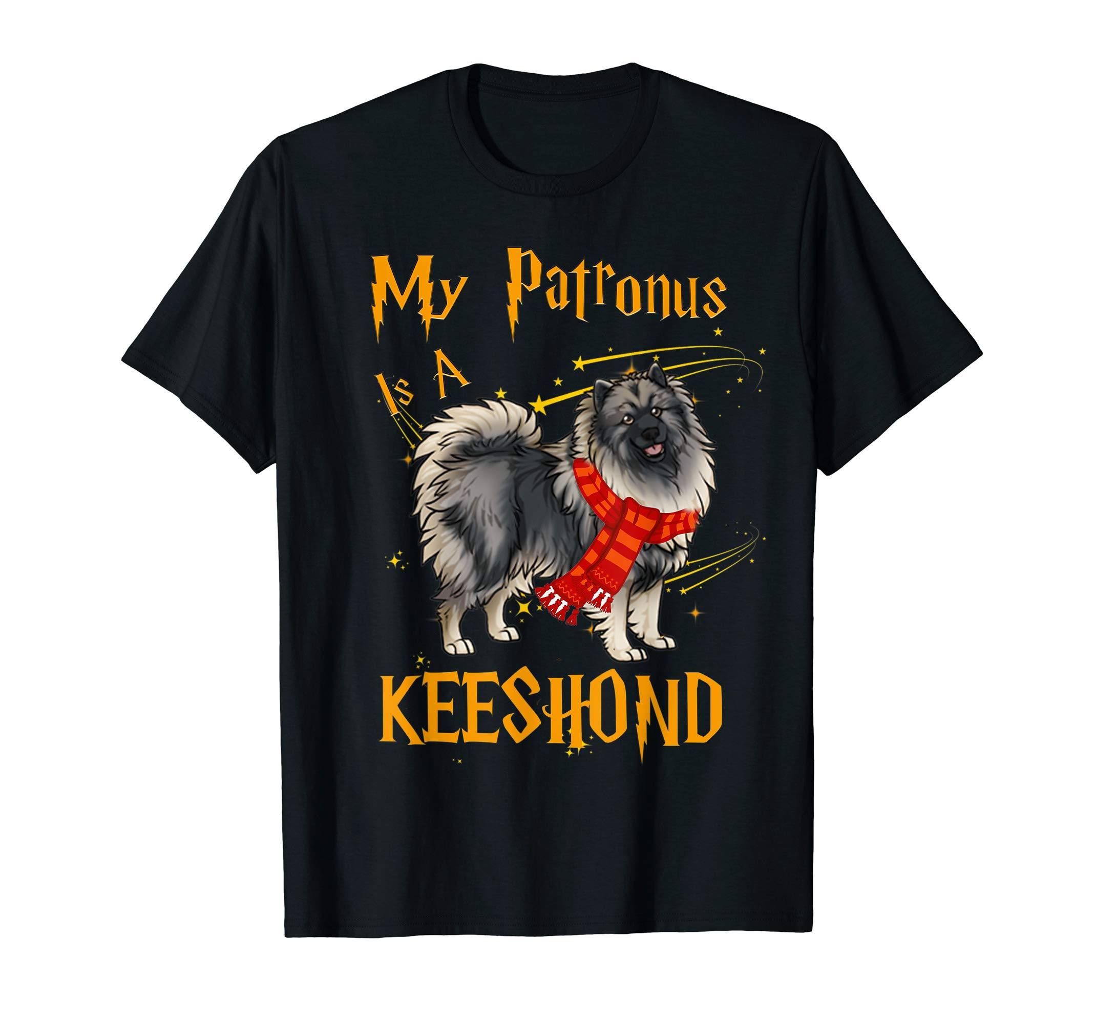 My Patronus Is A Keeshond T Shirt for Dog Lovers 1