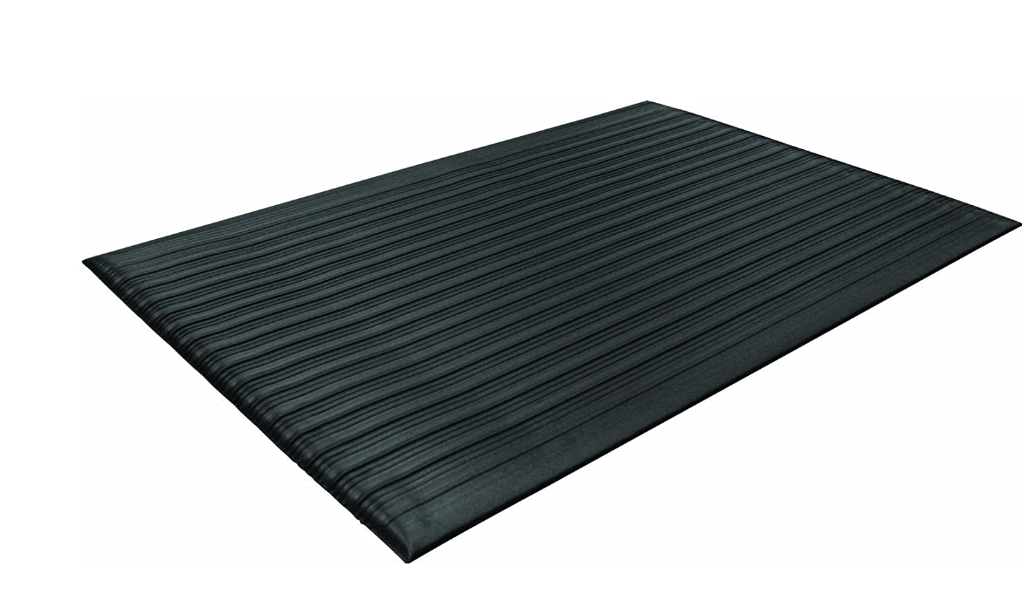 Guardian Air Step  Anti-Fatigue Floor Mat, Vinyl, 27'x32', Black, Reduces fatigue and discomfort, Can be easily cut to fit any space 27x32 Millennium Mat Company 24273602