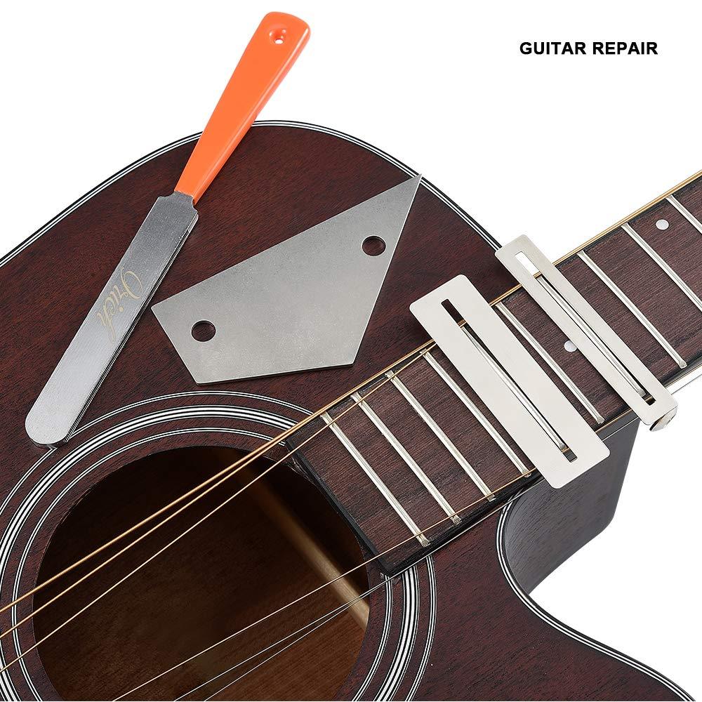 Griffbrettschutz + Bundfeile Gitarrenwerkzeuge Bundwippe Schleifstein