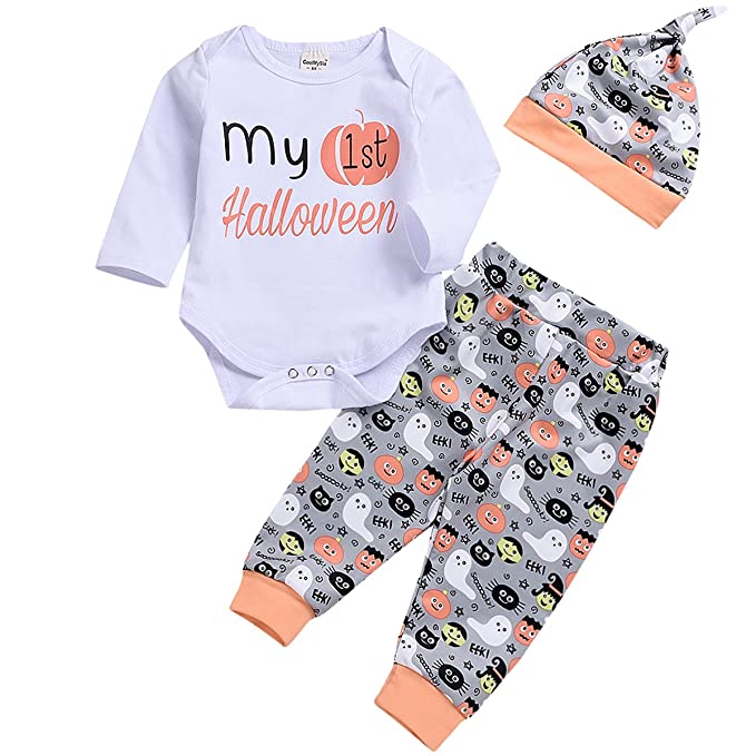 Carter/'s Infant Girls 2 Pc Outfit Bodysuit /& Pant Set NWT 6 Months White// Orange