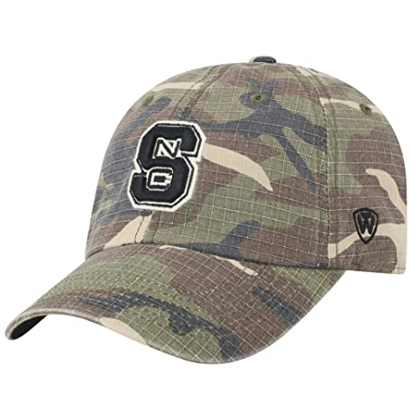 b609c008f9e Image Unavailable. Image not available for. Color  Top of the World NCSU NC  State Wolfpack Men s Camo Hat ...