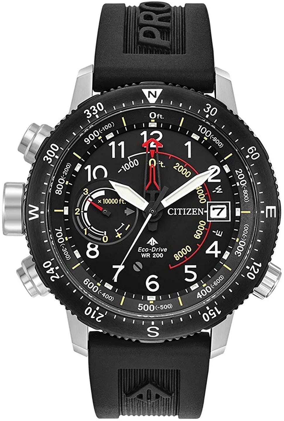 Citizen Men s Promaster Altichron Rubber Strap Watch