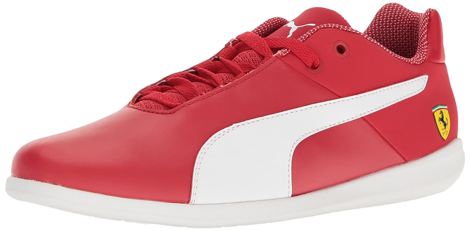 PUMA Men's SF Future Cat Casual 7.5 M US|Rosso Corsa-puma White-puma White