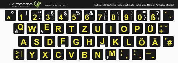 Tastaturaufkleber