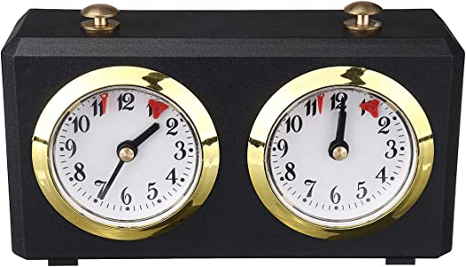 Amazon Com Kisstaker Chess Clock Electronic Analog Chess Clock Timer I Go Count Up Down Alarm Timer For Game Competition Home Kitchen