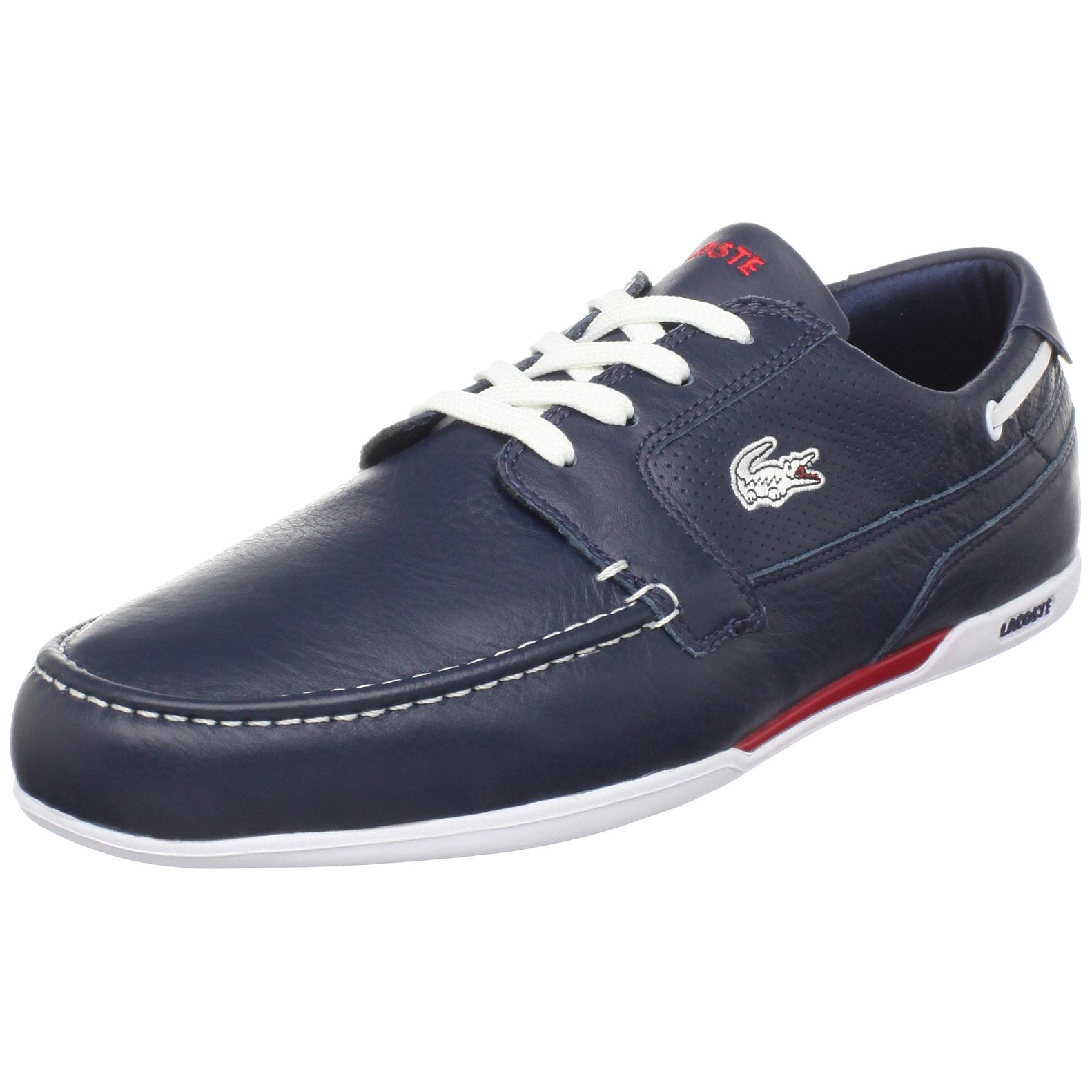 951e9f81bd9c4 Galleon - Lacoste Men s Dreyfus Boat Shoe