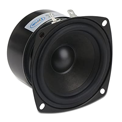 3 Inch Speaker, DROK 15W Antimagnetic Tweeter Speakers 3 Inch Round 8 Ohm HiFi Full-Range Speaker Strong Interference Immunity 52mm for DIY Audio Loudspeaker 8 Ohm Speakers: Car Electronics