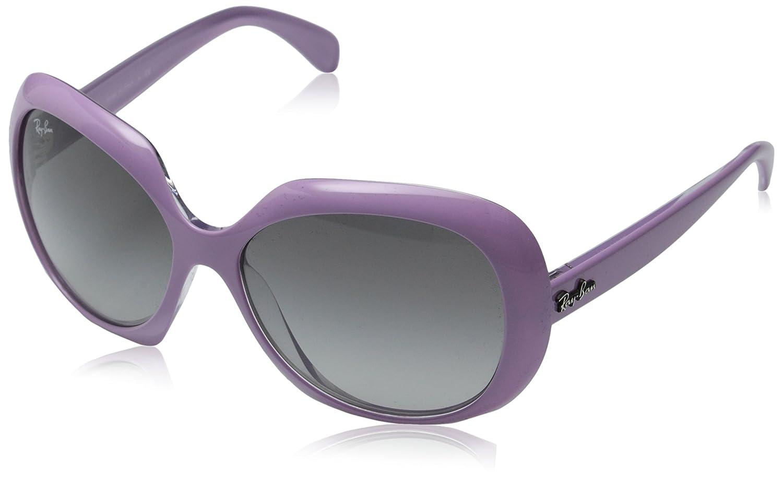 Amazon.com: Ray-Ban anteojos de sol Oval de la mujer, Rosado ...