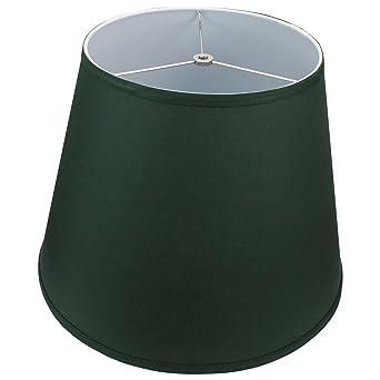 Lamp shade 11x17x13 hunter green linen fabric amazon lamp shade 11x17x13 hunter green linen fabric mozeypictures Gallery