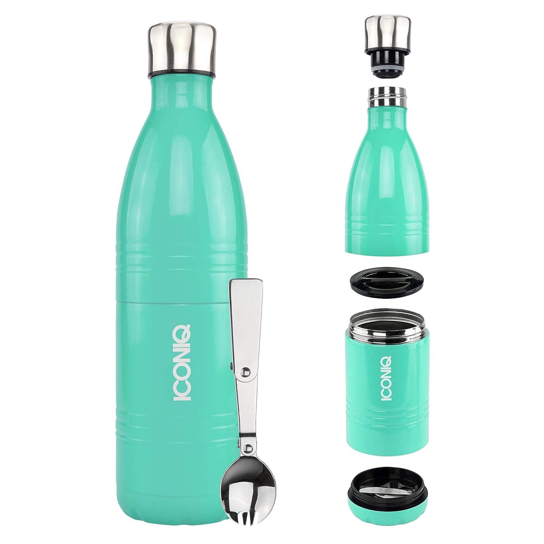 Iconiq Qore - contenitore isolato impilabile in acciaio inox per alimenti 10 ounce | Navy Blue Others
