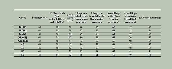 Damen Winter Mantel Aus Ökoleder Damenjacke Reißverschluss Schwarz Lang 34-52