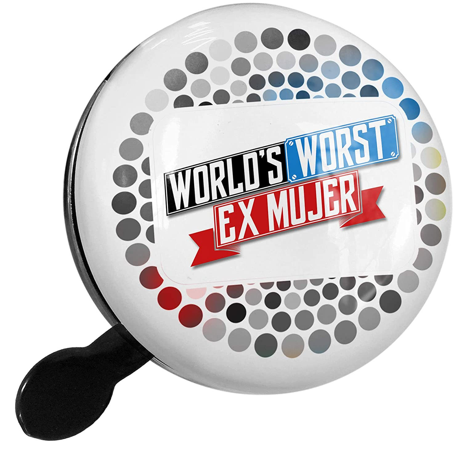 Amazon.com : NEONBLOND Bike Bell Funny Worlds Worst Ex Mujer ...