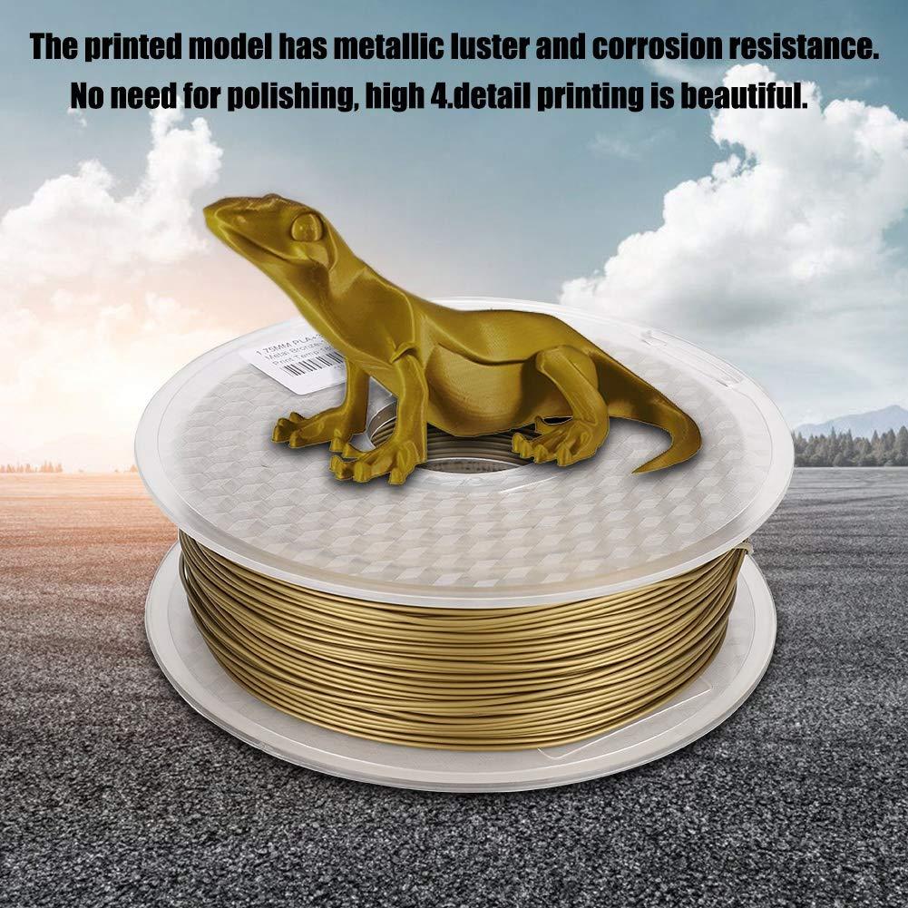 Denash Impresora 3D Filamento de Bronce Consumibles de Impresora ...