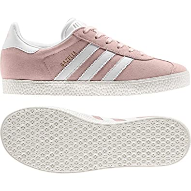 0dd0e7c4ed adidas Originals Gazelle J Ice Pink Suede 4 M US Big Kid