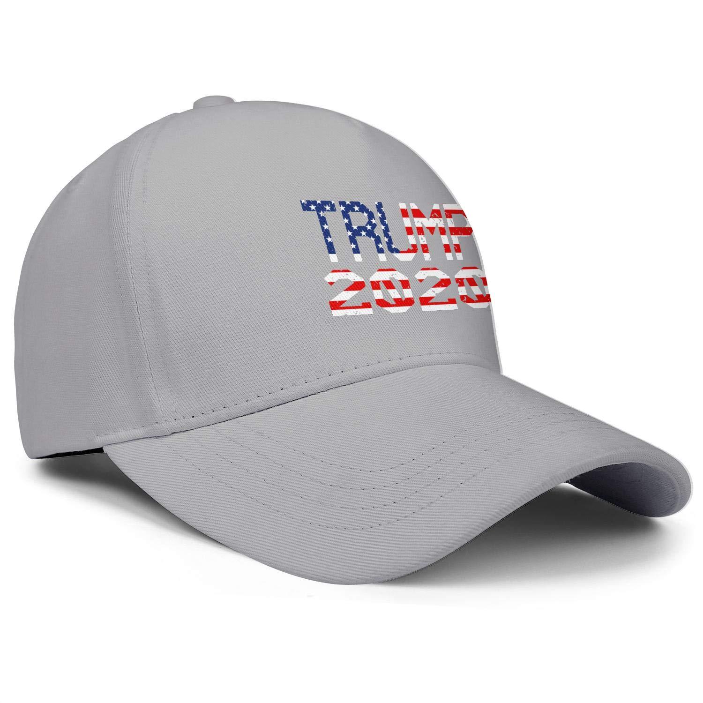 Trump 2020 American Flag Unisex Baseball Cap Cooling Running Caps Adjustable Trucker Caps Dad-Hat