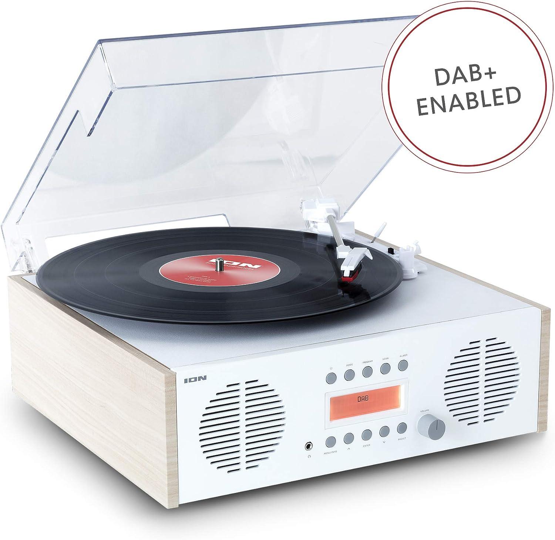 ION Audio Digital LP - Centro de Música Retro 4 en 1 con Plato ...