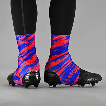 563df6c1d31 Amazon.com   Tryton Ultra Red Blue Spats Cleat Covers   Sports ...