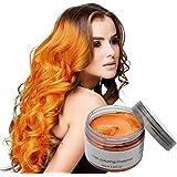 MOFAJANG Natural Hair Wax Color Styling Cream Mud, Adofect Natural Hairstyle Dye Pomade, Temporary Hairstyle Cream 4.23…