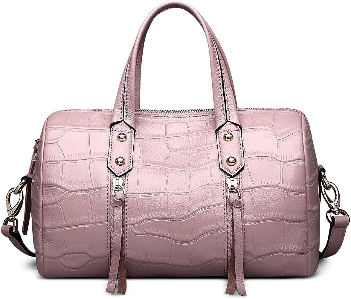 09718a7b22de Leather Handbags for Women Crossbody Bags Large Capacity Purse