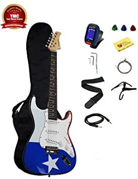 Stedman Pro 39 inch - Kit de guitarra eléctrica (con funda, correa para guitarra, Guitarra Cable, Whammy Bar, y digital e-tuner: Amazon.es: Instrumentos ...