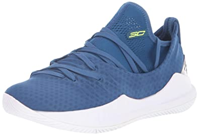 c6af859ce0e5 Under Armour Boys  Grade School Curry 5 Basketball Shoe Moroccan Blue (401)