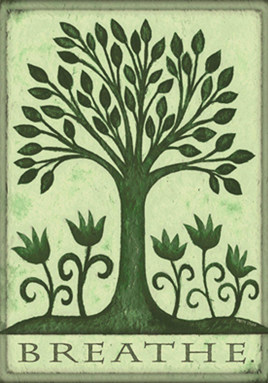 Amazon.com : Toland Home Garden Breathe 12.5 x 18-Inch Decorative ...