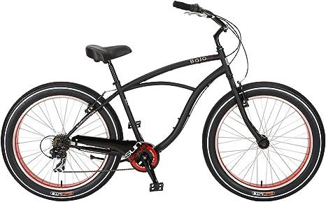 Bicicleta Sun Baja Cruz Mens Negra 7V: Amazon.es: Deportes y aire ...
