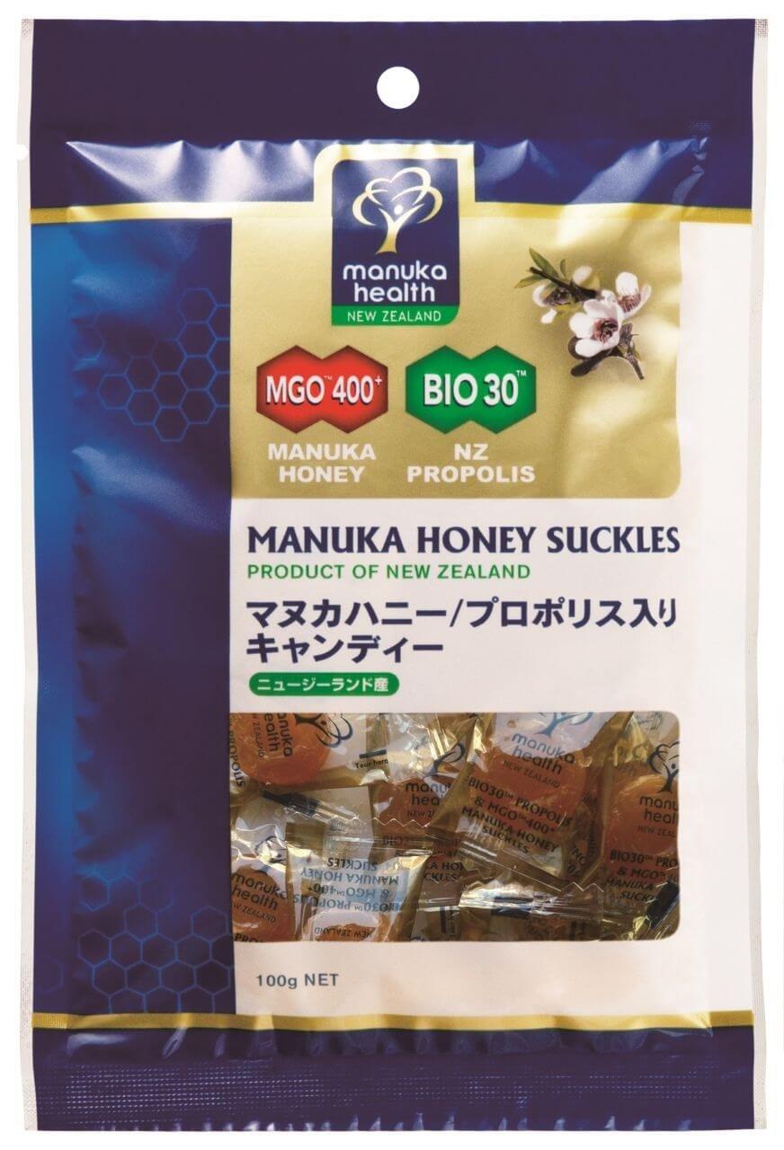 マヌカヘルス プロポリス&マヌカハニーMGO400+キャンディー