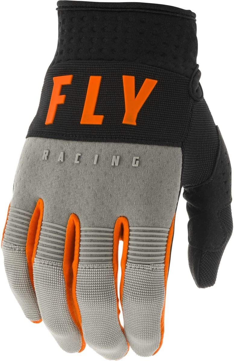 Fly Racing 2020 F-16 Gloves Grey//Black//Orange X-Large