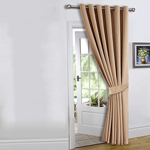Imperial Rooms Door Curtain Thermal Insulated Curtain Eyelet